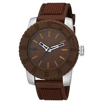 EDC by ESPRIT watch wrist watch men's Pendulum - tobacco silicone EE101001003