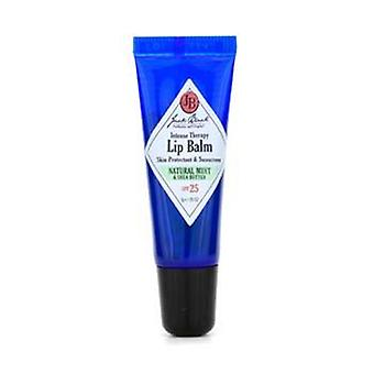 Jack Black Intense Therapy Lip Balm SPF 25 With Natural Mint & Shea Butter - 7g/0.25oz