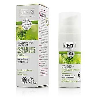 Lavera organische Mint porie raffinage Moisturizing Fluid - 50ml / 1.6 oz