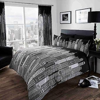 Skyline Single Duvet Cover Set