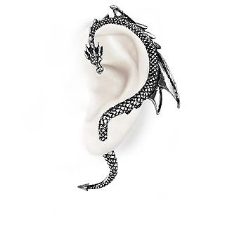 Alchemy Pewter Earrings The Dragons Lure (Left Ear)