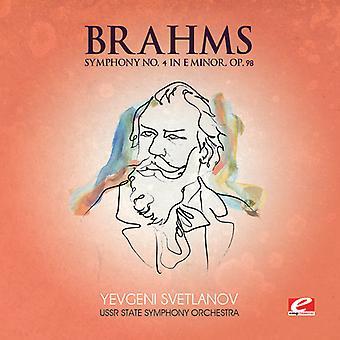 ホ短調, Op. 98 [CD] USA 輸入のブラームス ・ ブラームス: 交響曲第 4