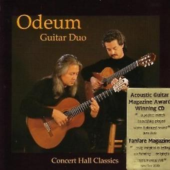 Odeum Guitar Duo - koncertsalen Classics [CD] USA importerer