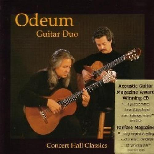 Odeum Guitar Duo - Concert Hall Classics [CD] USA import