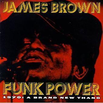 James Brown - Funk Power 1970-marca nueva Thang [CD] USA importación