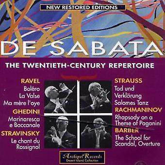 Barber / De Sabata - De Sabata Dirigiert 20. Jahrhu [CD] USA importerer