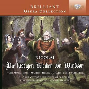 Chorus of the Deutsche Oper Berlin - Otto Nicolai: Die Lustigen Wieber Von Windsor [CD] USA import