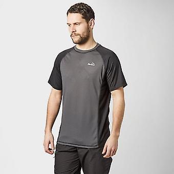 Peter Storm Men's Short Sleeve Tech T-Shirt Dark Grey