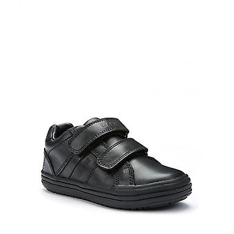 Geox Geox Elvis Black Smart Trainer School Shoes