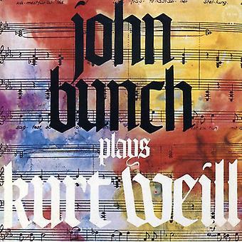 John bunke - spiller Kurt Weill [CD] USA import