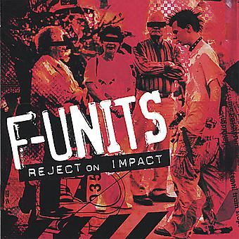 F-Units - Reject on Impact [CD] USA import