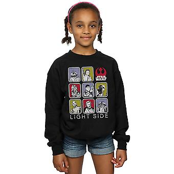 Star Wars Girls The Last Jedi Multi Character Sweatshirt