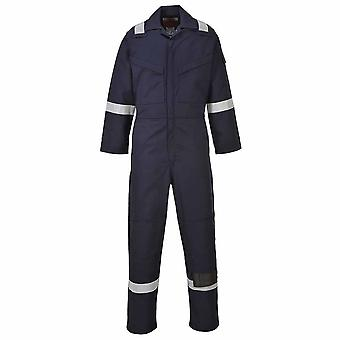 Portwest - Araflame Hi-Vis Sicherheit Workwear Gold Overall Boilersuit