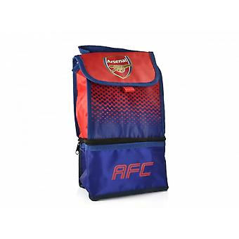 Arsenal FC Official Football Fade Design Lunch Bag