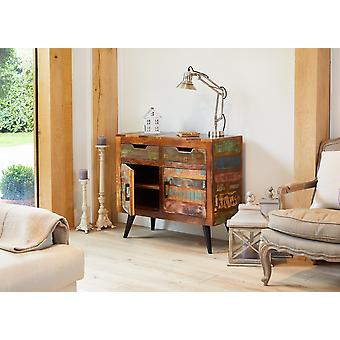 Coastal Chic Wooden Small Sideboard - Baumhaus