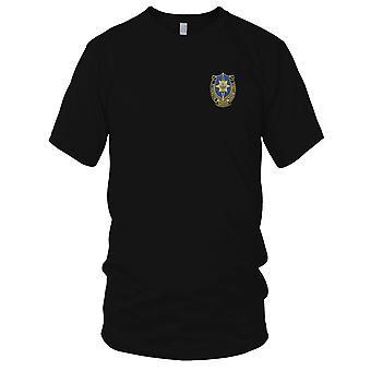 Amerikanske hær - 141st militære efterretningstjeneste bataljon broderet Patch - Kids T Shirt