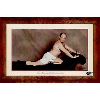 George Costanza el arte intemporal de la seducción cartel Poster Print