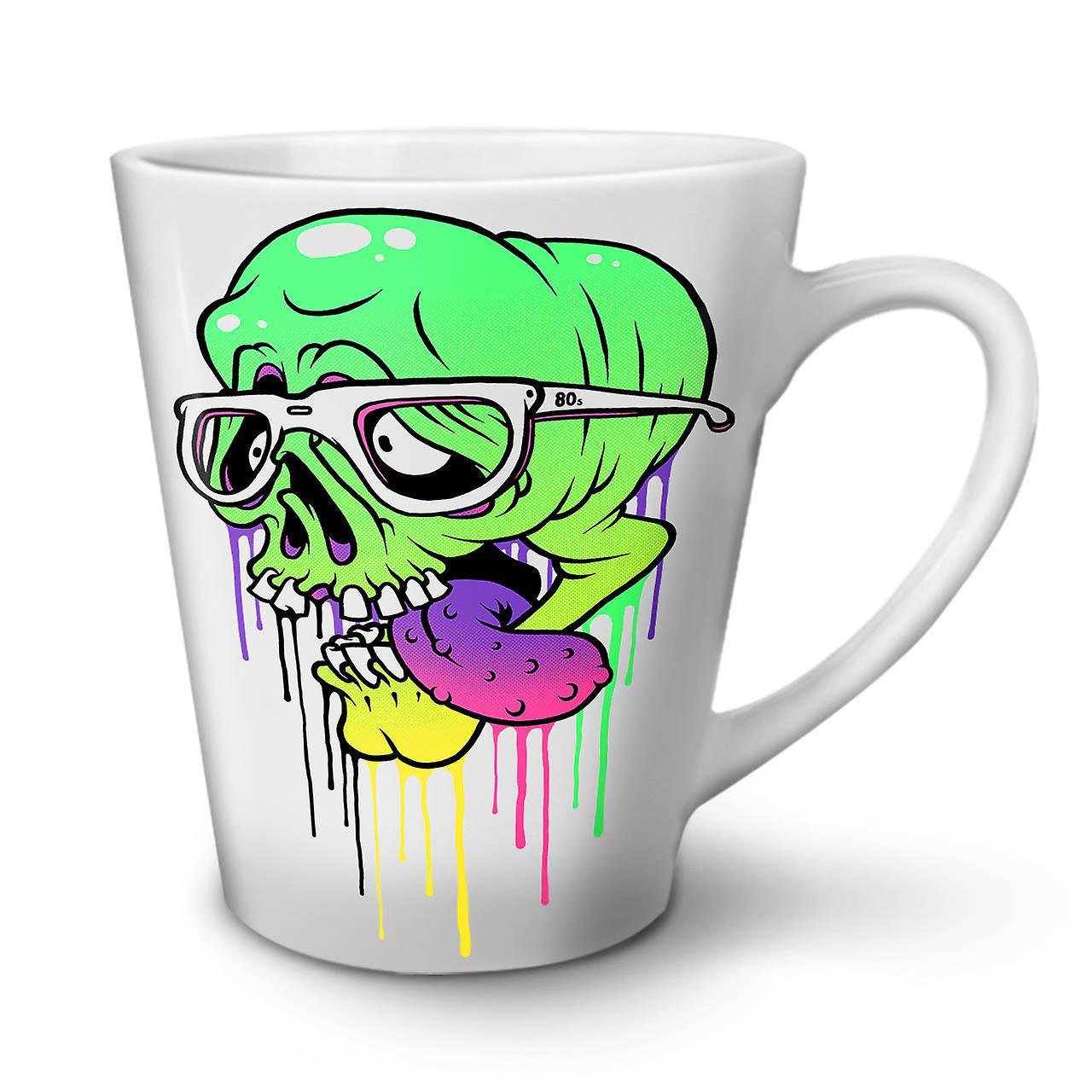 OzWellcoda Latte Blanche En Céramique Skull Tasse Café 12 Swag Zombie Nouvelle IEYDWH29