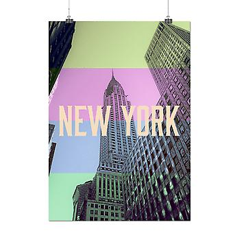 Matte or Glossy Poster with New York Urban Fashion | Wellcoda | *q162