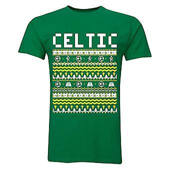 Celtic Christmas T-Shirt (Green)