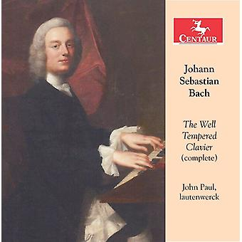 Bach, J. / Paul, John - Bach: The Well Tempered Clavier [CD] USA import