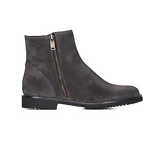 Viamercanti ladies S140A grey Suede Ankle Boots