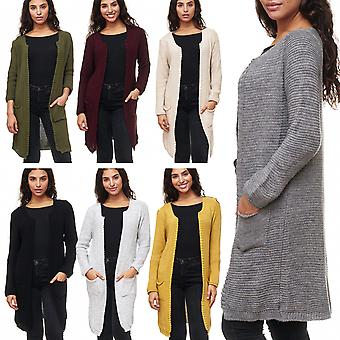 Ladies knitted jacket shawl Cape one size sleeve sweater Cardigan long sweater