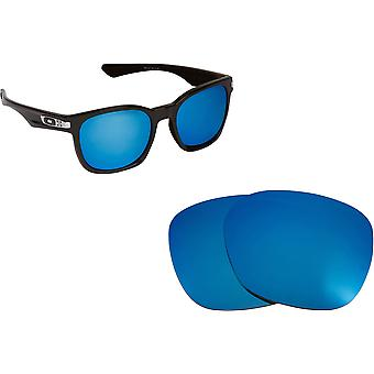 Garage Rock Replacement Lenses Polarized Blue by SEEK fits OAKLEY Sunglasses