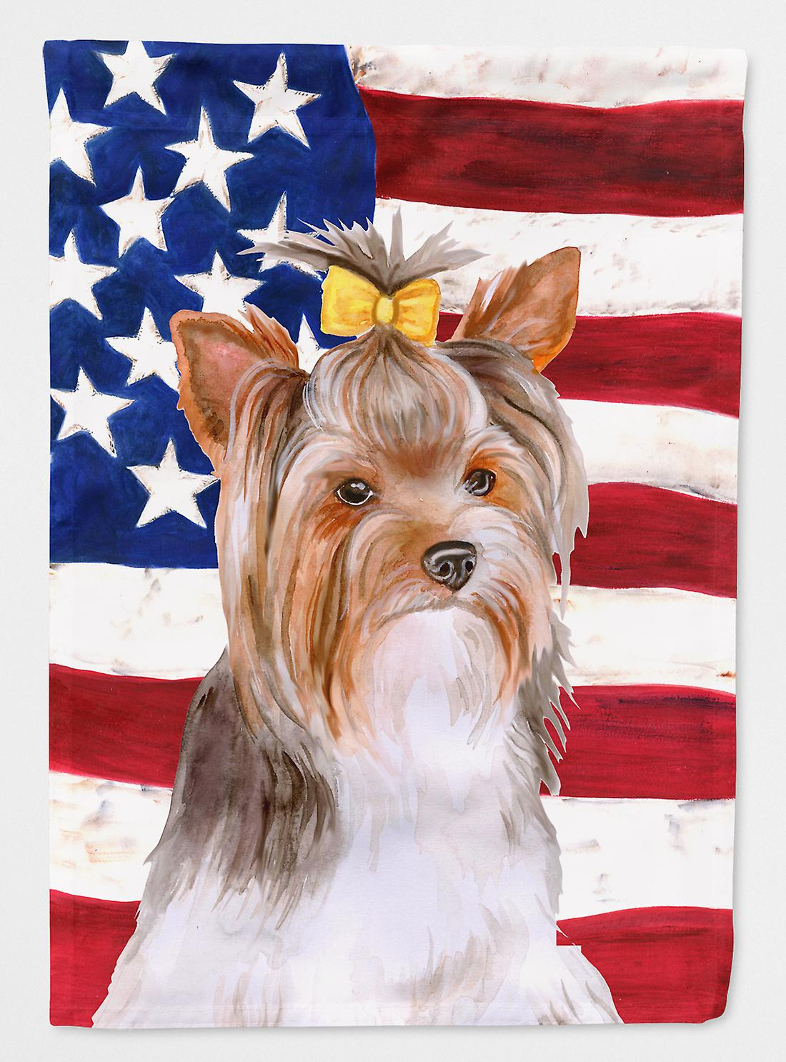 Carolines Tresors Bb9723gf Yorkshire Terrier 2 Patriotique Pavillon