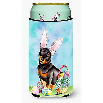 Lancashire Heeler Easter Bunny Tall Boy Beverage Insulator Hugger