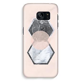 Samsung S7 Edge Full Print Case - Creative touch