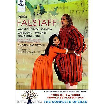 G. Verdi - importación de USA de Falstaff [DVD]