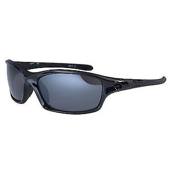 Blok Daytona solbriller - skinnende sort polariseret