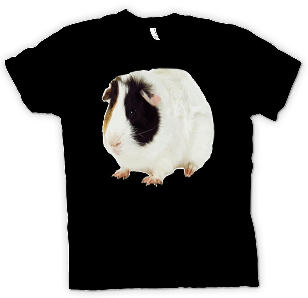 Kids T-shirt - Guinea Pig White and Brown Women