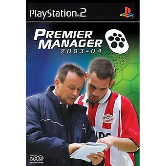 Premier Manager 2003-2004 (PS2)