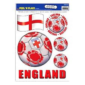 England Peel 'n' Place Removable Stickers
