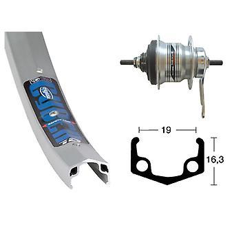 Bike parts 26″ wheel Rigida Cyber 10 + hub gears Shimano 7-speed (RB)