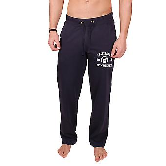 Men's College Sweatpants Navy