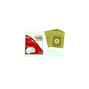Bolsa de papel para aspiradoras de goblin y Kit de filtro de