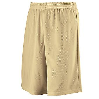 Augusta 739 Youth Longer Length Mini Mesh League Short