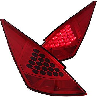 Anzo USA 321083 Nissan 350Z Red LED Tail Light Assembly - (Sold in Pairs)