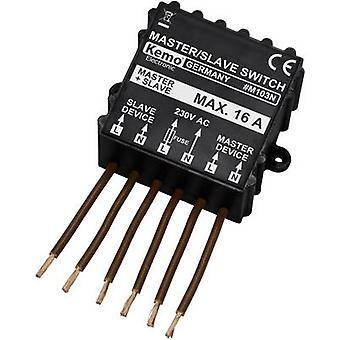 Master slave switch Component Kemo M103N 230 V AC