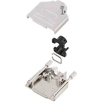 D-SUB housing Number of pins: 50 Metal 180 ° Silver