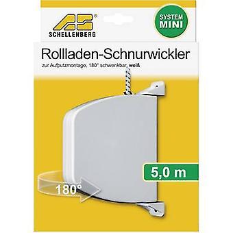 Cord winder (surfane-mount) Schellenberg 50506 Compatible with Schellenberg Mini