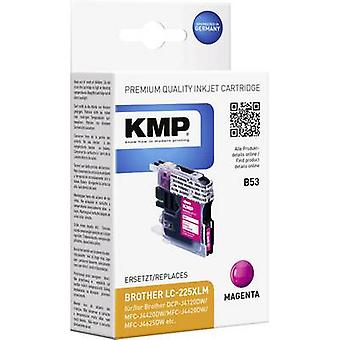 KMP Ink replaced Brother LC-225XLM Compatible Magenta B53 1530,0006