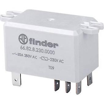 Finder 66.82.8.230.0000 Plug-in relay 230 V AC 30 A 2 change-overs 1 pc(s)