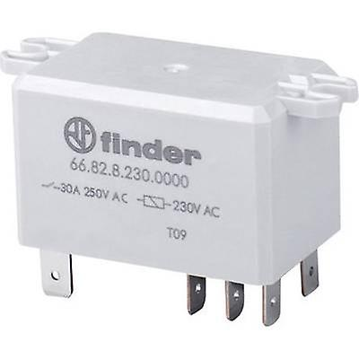 Finder 66.82.8.230.0300 Plug-in relay 230 V AC 30 A 2 makers 1 pc(s)