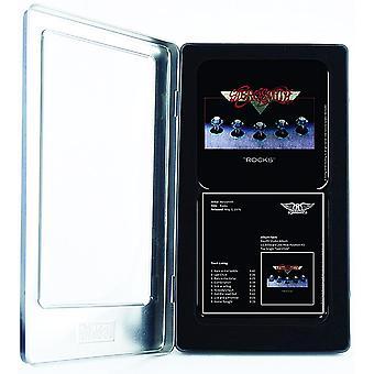Aerosmith Rocks Set 6 Metall / Kork Getränke Untersetzer In Dose