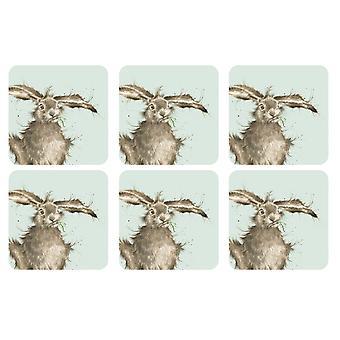 Pimpernel Wrendale Hare Coasters Set of 6