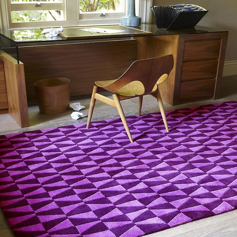 Rugs - Geometric Purple - Geo02